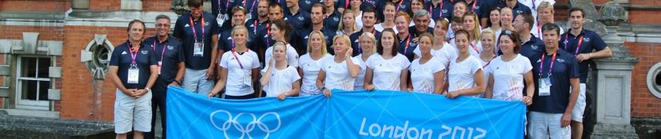 Deutsche Olympiamannschaft Rudern _2012