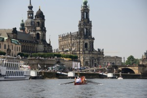 Stadtdurchfahrt-Dresden